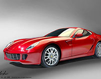 Automotive Tablet Renderings