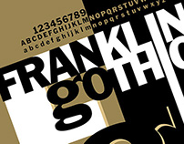 Franklin Gothic Poster