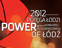 Power of Łódź - posters series