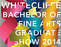 Whitecliffe Graduate Show Material