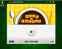 Sopa de Letras (UI Game Design for Educative Web)