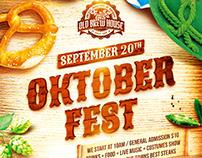 Oktoberfest Festival Poster vol.3, PSD Template