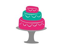 Jaz Cake Creationz Logo
