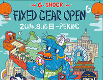 G_SHOCK Fixed Gear Open 6 - Beijing
