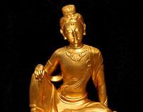 Buddha of Zizai Guanyin | 自在观音塑像