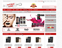 Red Label Outlet ebay shop design enterprise