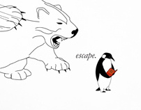 """Escape From Reality"" Penguin"