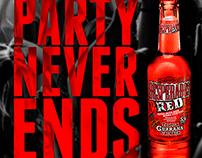 Desperados Red - Party Never Ends