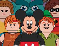 Disney // LEGO Minifigures