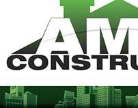 Visual identity -  AMIL Construções