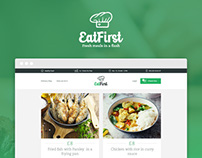 EatFirst - Website