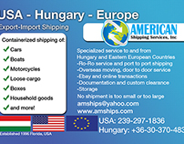 Shipping Company Flyer
