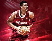 Gustavo Ayón - Selección Mexicana de Basquetbol