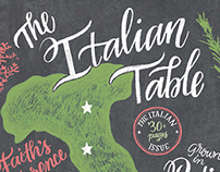 Eating Well Magazine : The Italian Table