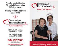 Companion Extraordinaire Trifold Brochure