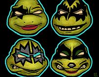 Kiss Ninja Turtles