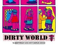 Dirty world cartoon Series