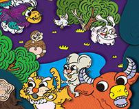 十二生肖玩具書 THE POP-UP GAME BOOK