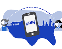 Icon Design :: GiftFly Across the Country
