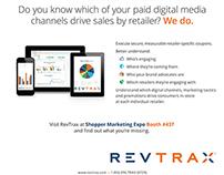 RevTrax Trade Show ad