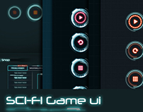 3 in 1 Sci-Fi Game UI