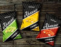 Дизайн упаковки арахиса Averton