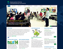 Bangladesh Youth Environmental Initiative's Website