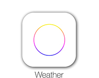 Weather App for iOS 8