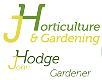 JHorticulture & Gardening Logo and Business Card