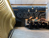 Fast Food Restaurant Interior Design by AddLine group