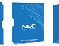 Identidad Corporativa NEC Chile