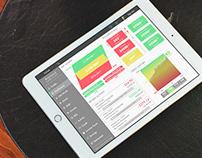 FinTech App Visual UI Concept