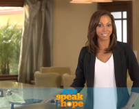 AT&T Speak Hope Campaigns with Holly Robinson-Peete