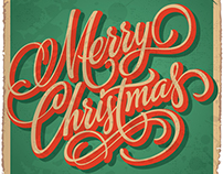 VINTAGE XMAS | Hand Lettering
