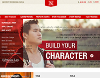 UNL College of Law Website