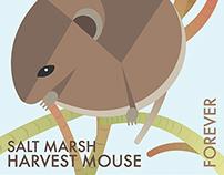 Postage Stamp: Endangered Mouse