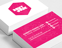 ''Rony Junk'' / Business card