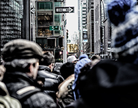 Captures New York City Streets And Life Style