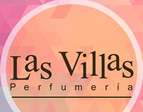 Las villas Perfumería, manejo de las redes sociales.