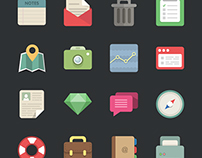 Flat Icon Vector Pack