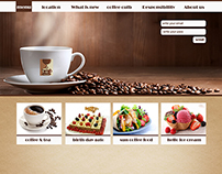 Logo & Web design | SUN coffee
