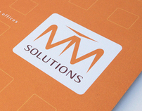 MTM Solutions Identity System & Product Brochure