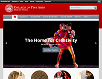 Illinois State University College of Fine Arts Website