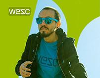 WESC Skatewear Ads