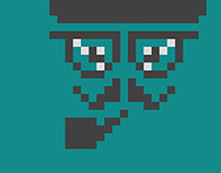 Hipster Pixel Mode.