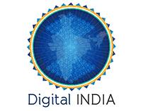 Digital India Logo Design Concept - Government Project