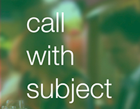 Call with Subject
