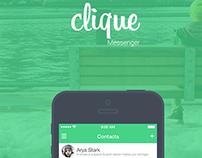 Clique Messenger For iOS