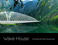 Surreal Enviroments of Flying Wave House