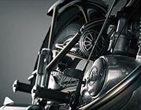 Retro Bike CG Renders